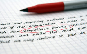 Fees pricing editing copyediting proofreading